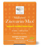 Buy Mulberry Zuccarin 60 Tabs New Nordic US Online, UK Delivery, Cardiovascular Blood Sugar Formulas