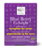 Buy Blue Berry Eyebright 60 Tabs New Nordic US Online, UK Delivery, Eye Support Supplements Vision Formulas
