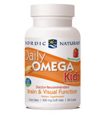 Buy Daily Omega Kids Natural Fruit Flavor 500 mg 30 Chewable sGels Nordic Naturals Online, UK Delivery