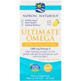Buy Ultimate Omega Great Lemon Taste 1000 mg 60 Count Nordic Naturals Online, UK Delivery, EFA Omega EPA DHA