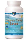 Buy Complete Omega Junior Lemon 500 mg 180 Chewable sGels Nordic Naturals Online, UK Delivery, EFA Omega EPA DHA