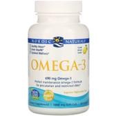 Buy Omega-3 Lemon 1000 mg 60 sGels Nordic Naturals Online, UK Delivery, EFA EPA DHA Omega 369