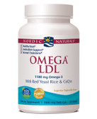 Buy Omega LDL with Red Yeast Rice and CoQ10 1000 mg 60 sGels Nordic Naturals Online, UK Delivery, EFA Omega EPA DHA