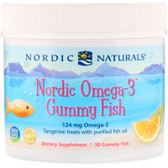 Buy Nordic Omega-3 Gummy Fish Tangerine Treats 30 Fish-Shaped Gummies Nordic Naturals Online, UK Delivery, EFA EPA DHA Omega 369