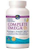 Buy Complete Omega- D3 1000 mg 120 sGels Nordic Naturals Online, UK Delivery, EFA Omega EPA DHA