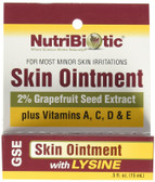 Buy Skin Ointment 2% Grapefruit Seed Extract with Lysine .5 oz (15 ml) NutriBiotic Online, UK Delivery,