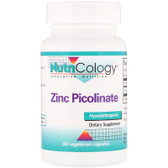 Buy Zinc Picolinate 60 Veggie Caps Nutricology Online, UK Delivery, Mineral Supplements