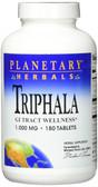 Triphala 1000 mg 180 Tabs, Planetary, UK Store