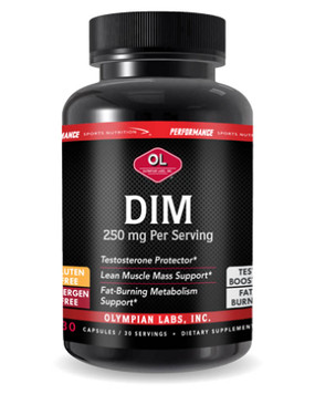 Buy Performance Sports Nutrition DIM 250 mg 30 Caps Olympian Labs Online, UK Delivery, DIM Hormonal Balance