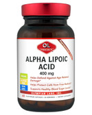 Buy Alpha Lipoic Acid 400 mg 60 Veggie Caps Olympian Labs Online, UK Delivery, Antioxidant