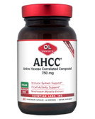 Buy AHCC 750 mg 60 Veggie Caps Olympian Labs Online, UK Delivery, Immune Support Mushrooms AHCC