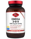 Buy Omega 3 - 6 - 9 2400 mg 120 sGels Olympian Labs Online, UK Delivery, EFA EPA DHA Omega 369