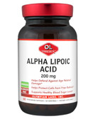 Buy Alpha Lipoic Acid 200 mg 60 Veggie Caps Olympian Labs Online, UK Delivery, Antioxidant ALA