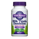 Buy Milk Thistle Dandelion 90 Non-GMO Veggie Caps Oregon's Wild Harvest Online, UK Delivery, Liver Support