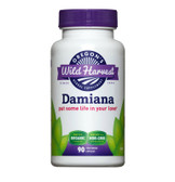 Buy Damiana 90 Non-GMO Veggie Caps Oregon's Wild Harvest Online, UK Delivery, Gluten Free Herbal Remedy Natural Treatment