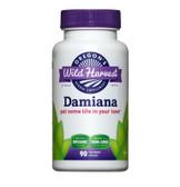 Buy Damiana 90 Non-GMO Veggie Caps Oregon's Wild Harvest Online, UK Delivery, Gluten Free Herbal Remedy Natural Treatment