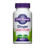 Buy Ginger 90 Veggie Caps Oregon's Wild Harvest Online, UK Delivery, Nausea Treatment Relief