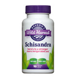 Buy Schisandra 90 Non-GMO Veggie Caps Oregon's Wild Harvest Online, UK Delivery, Gluten Free Herbal Remedy Natural Treatment