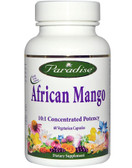 Buy African Mango 60 Veggie Caps Paradise Herbs Online, UK Delivery, Diet Weight Loss Irvingia gabonensis Gluten Free