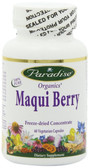 Buy Organics Maqui Berry 60 Veggie Caps Paradise Herbs Online, UK Delivery, Fruit Extract