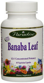 Buy Banaba Leaf 60 Veggie Caps Paradise Herbs Online, UK Delivery, Herbal Remedy Natural Treatment Diet Weight Loss