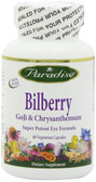 Buy Bilberry GoJi & Chrysanthemum 60 Veggie Caps Paradise Herbs Online, UK Delivery, Antioxidant Eye Support Supplements Vision Care Bilberry
