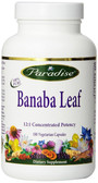 Buy Banaba Leaf 180 Veggie Caps Paradise Herbs Online, UK Delivery, Herbal Remedy Natural Treatment