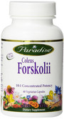 Buy Coleus Forskolii 60 Veggie Caps Paradise Herbs Online, UK Delivery, Herbal Remedy Natural Treatment