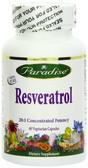 Buy Resveratrol 60 Veggie Caps Paradise Herbs Online, UK Delivery,