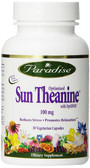 Buy Optimized Sun Theanine 100 mg 30 Veggie Caps Paradise Herbs Online, UK Delivery,