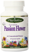 Buy European Passion Flower 60 Veggie Caps Paradise Herbs Online, UK Delivery, Herbal Remedy Natural Treatment