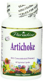 Buy Artichoke 60 Veggie Caps Paradise Herbs Online, UK Delivery, Cardiovascular Cholesterol Balance Support Artichoke Treatment