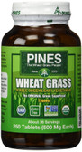 Buy Wheat Grass 500 mg 250 Tabs Pines International Online, UK Delivery, Green Foods Superfoods