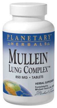Buy Mullein Lung Complex 850 mg 180 Tabs Planetary Herbals Online, UK Delivery, Lung Bronchial Remedy Relief Respiratory Treatment Mullein Formulas