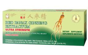 Buy Red Panax Ginseng Extractum 10 Bottles 0.34 oz, Each Prince of Peace, UK Shop