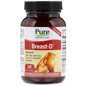 Buy Breast-D 30 Veggie Caps Pure Essence Online, UK Delivery, Women's Supplements Vitamins For Women