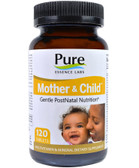 Buy Mother & Child Master PostNatal Formula 120 Tabs Pure Essence Online, UK Delivery, Multivitamins For Women