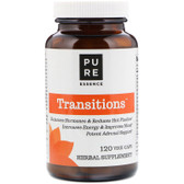 Transitions Herbs for Menopause, 120 Caps Pure Essence