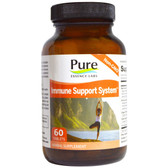 Buy Immune Cellular Support System 60 Tabs Pure Essence Online, UK Delivery, Cold Flu Remedy Relief Immune Support Formulas