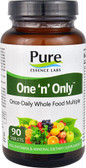 Buy One 'n' Only Superior  Multiple 90 Tabs Pure Essence Online, UK Delivery, Wholefood Vitamins