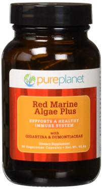 Buy Red Marine Algae Plus 500mg 90 Veggie Caps Pure Planet Online, UK Delivery