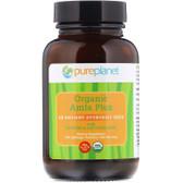 Buy Organic Amla Plus 500 mg 100 Tabs Pure Planet Online, UK Delivery, Ayurveda Ayurvedic Amla indian gooseberry amalaki amlaki