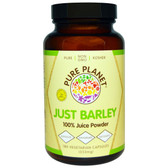 Buy Just Barley 333 mg 180 Veggie Caps Pure Planet Online, UK Delivery, Superfoods Green Food