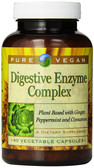 Buy Digestive Enzyme Complex 90 Veggie Caps Pure Vegan Online, UK Delivery, Digestive Enzymes