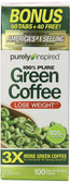 Buy Green Coffee 800 mg 100 Tabs Purely Inspired Online, UK Delivery, Antioxidant