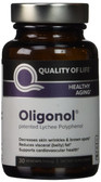 Buy Oligonol 100 mg 30 Veggie Caps Quality of Life Labs Online, UK Delivery, Anti Aging Treatment Supplements