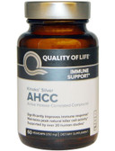 Buy Kinoko Silver AHCC 250 mg 60 Veggie Caps Quality of Life Labs Online, UK Delivery, Immune Support Mushrooms AHCC