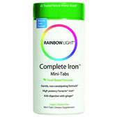Buy Complete Iron Mini-Tabs 60 Mini Tabs Rainbow Light Online, UK Delivery, Mineral Supplements