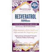 Buy Resveratrol 500 mg 60 Veggie Caps ReserveAge Nutrition Online, UK Delivery
