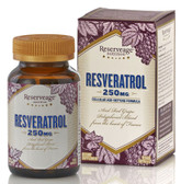 Resveratrol Cellular Age-Defying 250mg, 120 Caps, ReserveAge